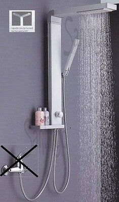 Aluminum Shower Panel With Rain Shower From Sanlingo