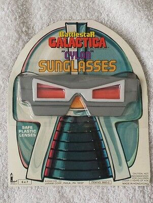 Battlestar Galactica Larami Corporation Cylon Sunglasses MOC 1978