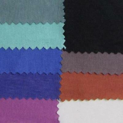 Organic Cotton 10 Ounce Baby Rib Fabric - Assorted Colors - By the Yard