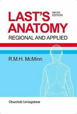 NEW Last's Anatomy By McMinn Paperback Free Shipping