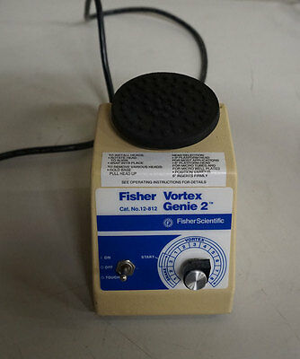 Fisher Vortex Genie 2 Excellent Working