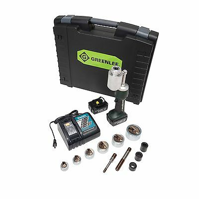 "Greenlee LS100L11SS 1/2"" - 2"" Stainless Steel Punch Set Knockout Kit"
