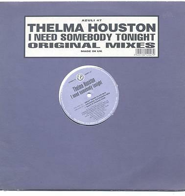 "Thelma Houston - I Need Somebody Tonight - 12"" Vinyl Single"