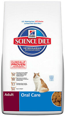 Hill's Science Diet Adult Oral Care Dry Cat Food  5kg