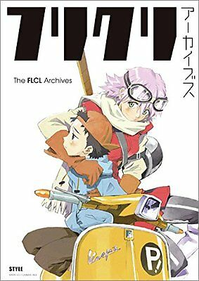The FLCL Archives Anime Illustration Art Book Gainax Production I. G