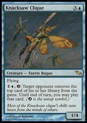 Knacksaw Clique ~ Shadowmoor ~ Excellent+ ~ Magic The Gathering