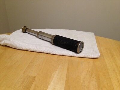 Vintage small spyglass ~ collapsible telescoping