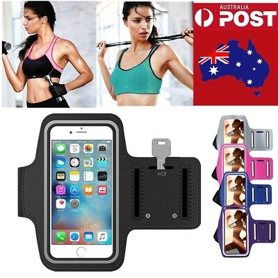 For iPhone 5s 6s 7 8 plus iTouch 6 Gym Sports Armband Jogging Case Running Case