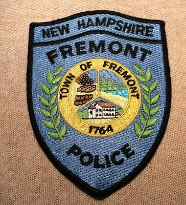 NH Fremont New Hampshire Police Patch