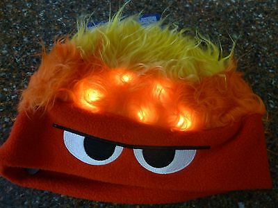 Disney Inside Out Anger Light Up Hat Perfect for Halloween NWT One Sz Authentic