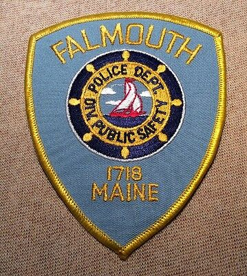 ME Falmouth Maine Police Patch