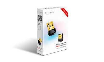 3 FOR 2 PRICE!!! TP-Link TL-WN725N 150Mbps Wi-Fi Nano USB Adapter Dongle