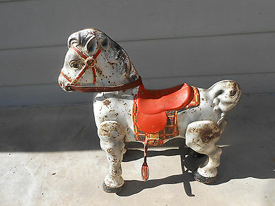 All Original 1948 Vintage Mobo Pedal Hobbyhorse from England. Still Works Great.