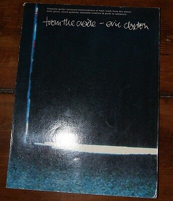 Eric Clapton,  From The Cradle,  Tablatures/Song Book