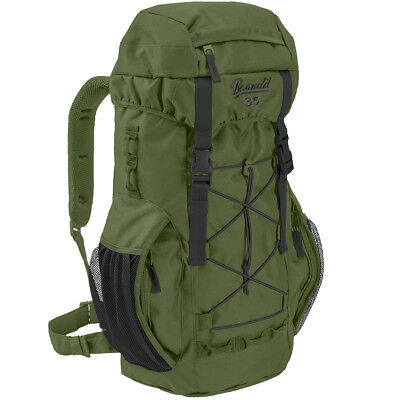 Brandit Aviator 35L Padded Hunting Fishing Backpack Waterproof Travel Pack Olive