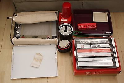 A Collection Of Vintage Retro Photographic Developing Equipment Inc