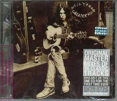 Neil Young Greatest Hits Sealed Cd New Best Remastered