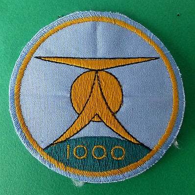 South African Air Force 1000 Hrs Alouette Helicopter Saaf Flight Air Crew Patch