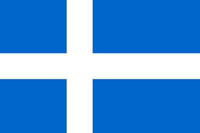 SHETLAND ISLANDS FLAG 3' x 2' Scotland Island Scottish Isles