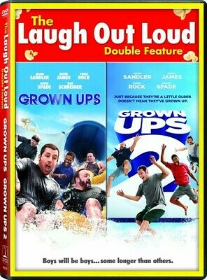 Grown Ups / Grown Ups 2 [New DVD] Ac-3/Dolby Digital, Dolby, Dubbed, Widescree