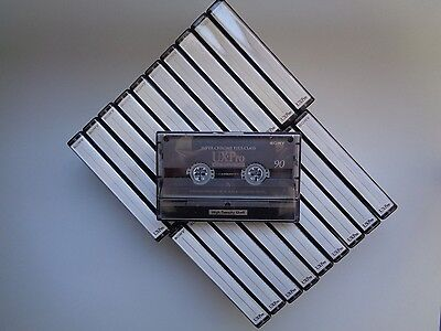 20 Audio Cassette Tape SONY UX-Pro 90 - Great Condition