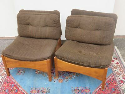 vintage retro couch sofa garnitur 2 easychair sessel. Black Bedroom Furniture Sets. Home Design Ideas