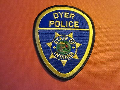 Collectible Indiana Police Patch Dyer New