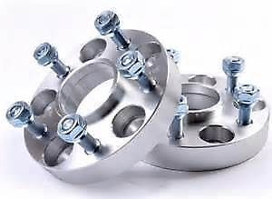 4x 30mm Hubcentric Aluminium Wheel Spacers, Land Rover Discovery 2 TD5 P38 R/R