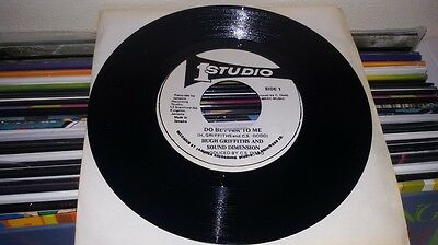 """Hugh Griffiths And Sound Dimension - Do Better To Me (7"""") Studio One"""