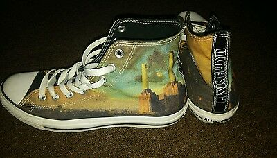 Pink Floyd Converse All Star limited edition very rare UK 8.5 size