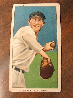 1909 T206 Piedmont Chase Black Hat Baseball Card * You Grade *