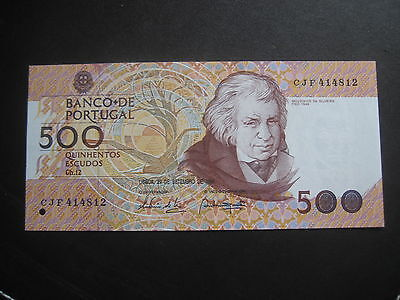 PORTUGAL 1980-89 ISSUE - 500 ESCUDOS - 29.09.1994 - P180g -1 of 5-  UNCIRCULATED