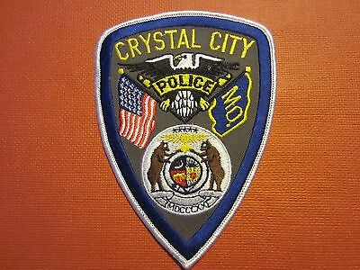 Collectible Missouri Police Patch Crystal City New
