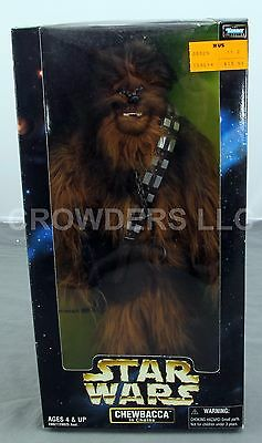 "Star Wars Action Collection 12"" Soft Furry Chewbacca in Chains Kenner 1998 NIB"