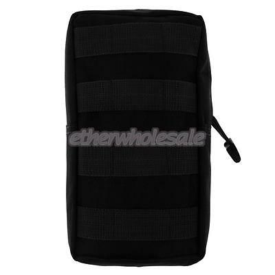 Tactical MOLLE Modular Utility Pouch Magazine Mag Accessory Bag Black
