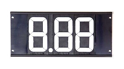 BIONDO RACING 3 Digit Dial-In Board P/N DB-1245