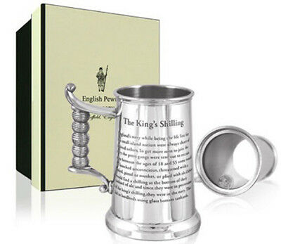 Kings Shilling PewterTankard
