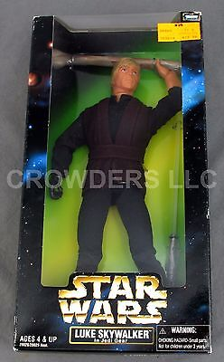 "Star Wars Action Collection 12"" Rebel Luke Skywalker in Jedi Gear Kenner '98 NIB"