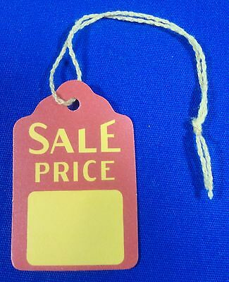 200 Qty. Sale Price Strung Merchandise Tags #5 Retail Store Supplies