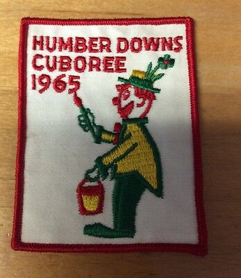 Scouting Of Canada Humber Downs Cuboree 1965 Patch New