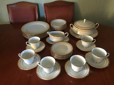 Fine China Loxley Noritake Porcelain Dinner Set 6 Person