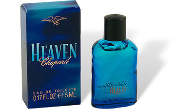 "Chopard - ""Heaven"" Parfum Miniatur Flakon 5ml EdT Eau de Toilette mit Box"