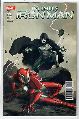 INFAMOUS IRON MAN #3 - 1 in 25 Variant by Steve Epting! NM