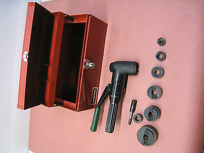Greenlee 7904SB Quick Draw 90 Hydraulic Knockout Punch Driver Kit