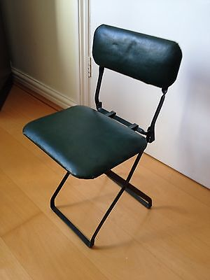 Mid Century Modern Industrial Folding Child's Chair By Fronsides - Superb