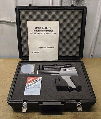 Omega Engineering Omegascope OS2000AS Infrared Pyrometer