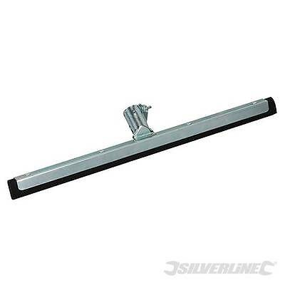 Floor Squeegee 450mm- Steel with EVA foam - Janitorial - Silverline 427693