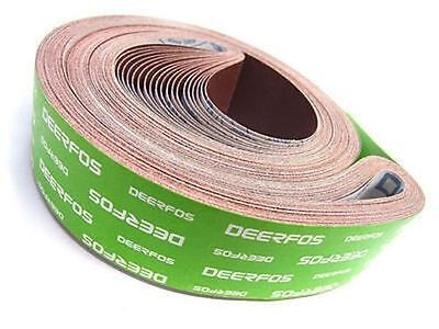 10 of 50mm x 1525mm J Weight Industrial Abrasive Sanding Belts