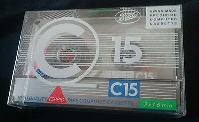 High Quality Ferric Computer C15 Blank Cassette NEW & SEALED