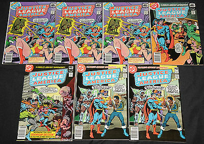Vintage DC Bronze Age JUSTICE LEAGUE OF AMERICA 37pc High Grade Comic Lot VF-NM
